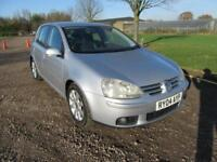 2004 VOLKSWAGEN GOLF 2.0TDI DSG GT AUTOMATIC DIESEL 5 DOOR HATCHBACK 5 SEATS