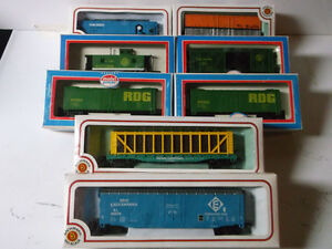 Train sets - model building and Freight cars