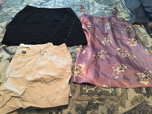 Womens Shorts/skirt and night gown