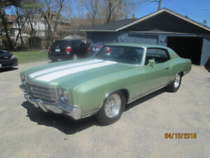 1970 Monte Carlo  454-400-12 bolt diff 373 gears NOW 16,500 FIRM