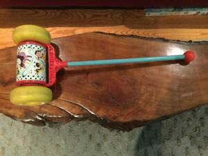 Vintage Fisher Price Children's Musical Push Toy