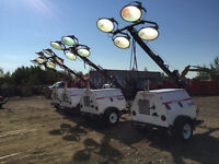 LIGHTING, POWER GENERATION AND HEAT FOR RENT!!