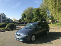 2003/53 Fiat Stilo JTM 2.0 Dynamic 5 Door Estate Blue