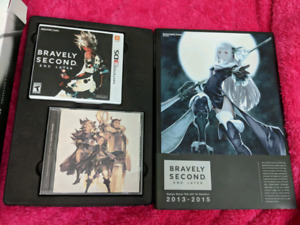 Bravely Second Collectors edition Nintendo 3DS game