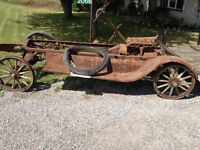 Model T chassis.