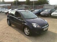 Ford Fiesta 1.6 Auto Ghia 2006 5 Door With March 17 MOT