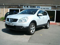 2008 Nissan Qashqai 1.6 Tekna 5d **Full Leather / Panoramic Roof**