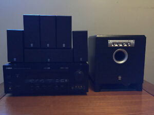 Yamaha Reciever/ subwoofer /surround speakers