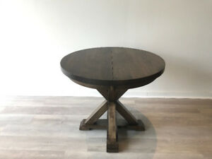 *Moving Sale*  Extendable Hardwood Round Table