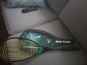 Black Knight squash racket