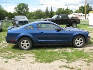 2006 Ford Mustang Coupe (2 door) SASK UNIT  PST PAID !