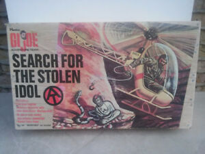G.I JOE SEARCH FOR THE STOLEN IDOL