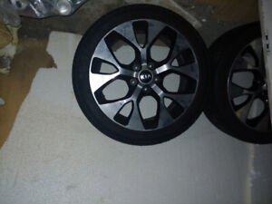 18 inch refinifinshed rims and tires