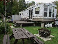 38' Northlander Supreme c/w Large Deck and Dock
