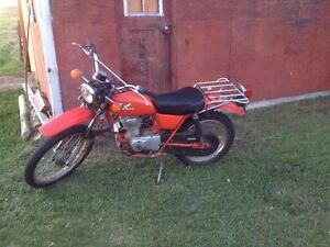 1977 honda ct125 great shape!!