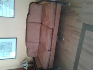 Solid walnut 3 pce Living Room set