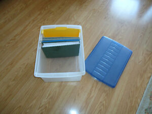 Plastic Letter Sized File Folder   $ 20.00 for both