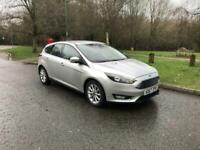 2018 Ford Focus 1.5 EcoBoost Titanium Navigation 5dr Auto HATCHBACK Petrol Autom