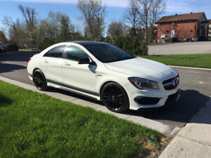 2014 Mercedes-Benz C-Class CLA 45 AMG Sedan
