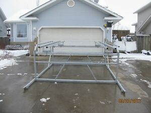 CUSTOM NEW CANTILEVER PONTOON, BOAT AND WAKEBOARD BOAT LIFTS Edmonton Edmonton Area image 9