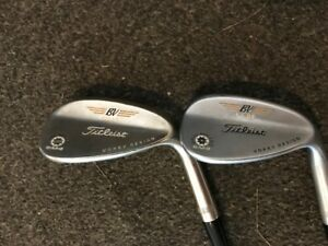 52 and 56 Titleist Vokey Wedges for Sales