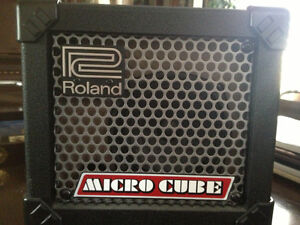 Roland Micro Cube amp, new