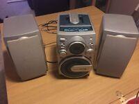 Alba cassette can system hifi
