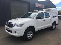 *SOLD* 2012 (62) Toyota Hilux 2.5 D4-D HL2 Double Cab 4x4 Diesel Pickup *93k*