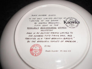 5 Norman Rockwell collectible plates London Ontario image 8