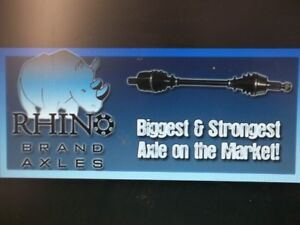 LOWEST PRICES in CANADA on RHINO AXLES $250.00