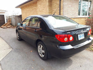 2007 Toyota Corolla Sedan ***MANUAL***