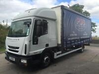 2010 10 Iveco Eurocargo 75E18 EEV high roof sleeper cab 20ft curtainsider