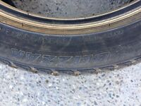Winter tires for sale from Cadillac STS 245 45R18