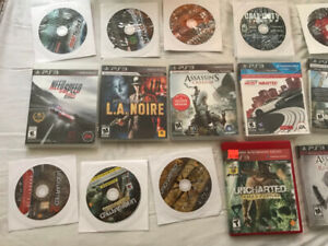 Perfect Working Condition PS3 Slim and Controller + 25 Games
