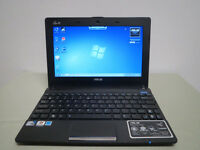 10.1 Asus Eee PC Laptop Netbook Intel Dual Core 1GB 320GB Quiet