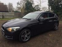 BMW 1 Series 1.6 116i Sport Sports Hatch 3dr (start/stop) - One Owner+FBMWSH+Red