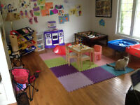 Daycare spaces available immediately- Oromocto