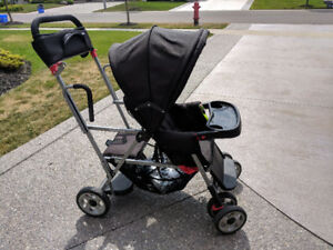 Joovy caboose sit and stand stroller