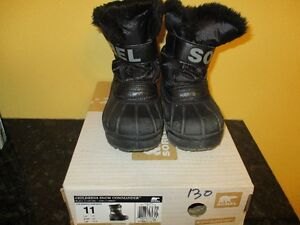 Sorel Snow Commander Winter Boots Toddler Size 11