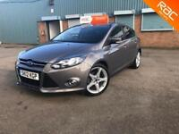 IMMACULATE FORD FOCUS TITANIUM 1.6 TDCI- 54K- FINANCE FROM £0- 6 MONTHS WARRANTY