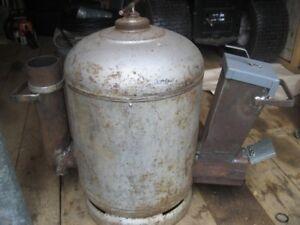 (Rocket stove)  a rendement maximum.
