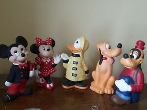 mickey mouse and friends figurines