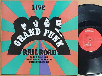 Grand Funk Railroad - Live 1991 Korea Only Vinyl 2LP GF Unique Sleeve EX
