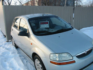 2004 Suzuki Swift +.comme un chevrolet aveo 5