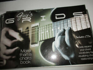 """Guitar """" Guy's Grids""""  Chord Book includes CD'S"""