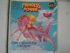 SHE-RA Princess of Power Super Adventure Book The Crooked Crown