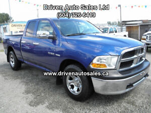 2010 Dodge Power Ram Crew Cab 4x4 low kms Pickup Truck