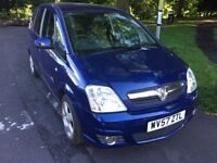 Vauxhall Meriva 1.4 Petrol 5Dr 2007 Long MOT