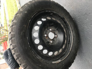 4 Winter Tires with Rims for SALE!