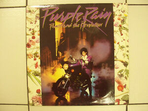 Vintage Prince & The Revolution Purple Rain LP X Cond Circa 1984